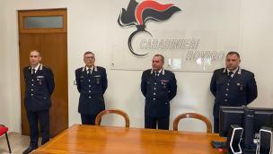Tre nuovi ufficiali per l'Arma polesana