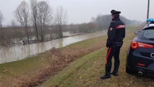 Carabiniere salva dal suicidio un 52enne rodigino disperato