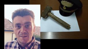 Figlio trentenne uccide il padre a martellate