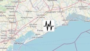 Terremoto sulla costa veneta