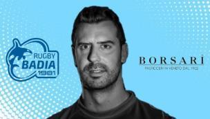 Guido Barion, campione d'Italia con la Rugby Rovigo Delta, diventa un biancazzurro