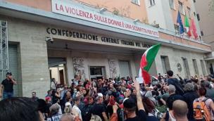 Assalto alla Cgil, in mille partiti dal Veneto