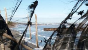 La spiaggia di Boccasette non c'è  più