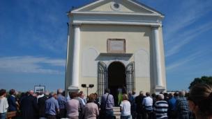 Inaugurata la chiesa di Moceniga<br/>dopo i lavori di restauro