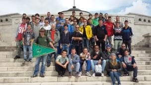Gli studenti dell'Enaip sul Grappa <br/> per ricordare la Grande Guerra
