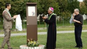 Un parco per padre Luigi Toffanin <br/> targa in memoria del missionario