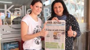 Alessandra compra La Voce tutti i giorni e vince 150 euro