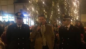 Un albero speciale: è il regalo dei carabinieri
