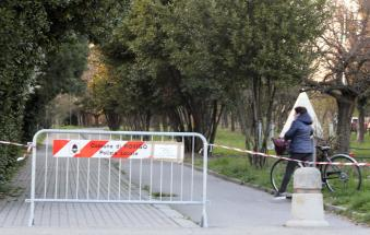 A Rovigo prorogata la chiusura di piste ciclabili, parchi e cimiteri