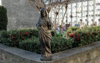 Beccati i ladri della Statua del Cristo grazie alle videocamere del cimitero