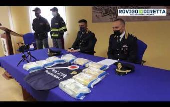 Dieci chili di cocaina nel camion: arrestati