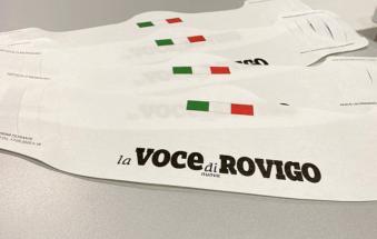 Da giovedì 50mila mascherine in edicola per i lettori della Voce di Rovigo