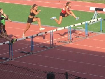 Elena Crepaldi trionfa nei 300 ostacoli