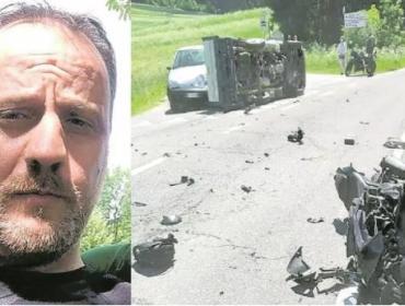 Maresciallo dei carabinieri muore in un incidente in moto