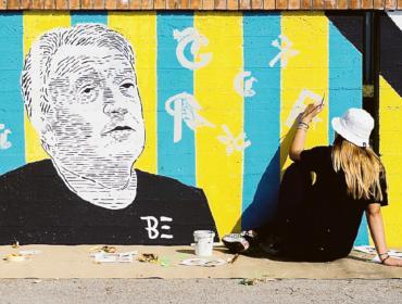 La street art colora la Commenda