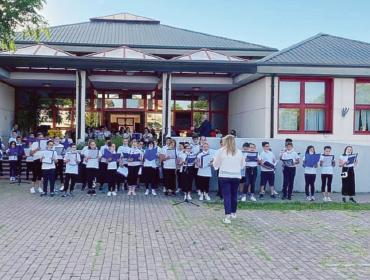 Concerto di fine anno per i bimbi della primaria