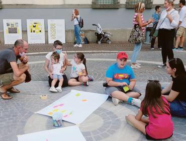 Il futuro della piazza nelle proposte dei bambini