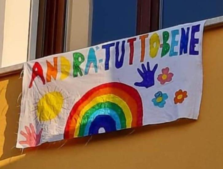Disegnate arcobaleni e speranza, noi li pubblichiamo