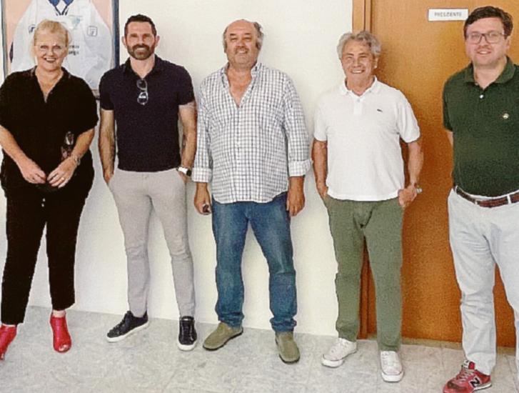 """Rovigo, Sergio Pellissier in visita al """"Gabrielli"""""""