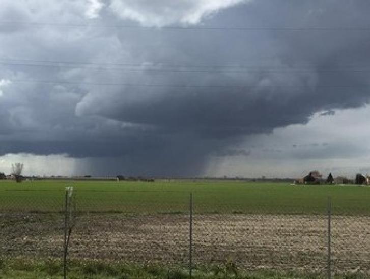 Dichiarato lo stato di attenzione per temporali forti in tutto il Veneto fino a sabato