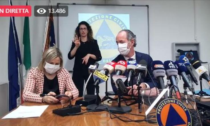 Covid Veneto, oggi 1.567 contagi e 29 morti: bollettino 2 aprile