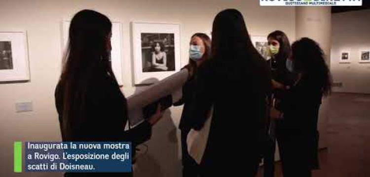 Il bianco e nero di Doisneau al Roverella