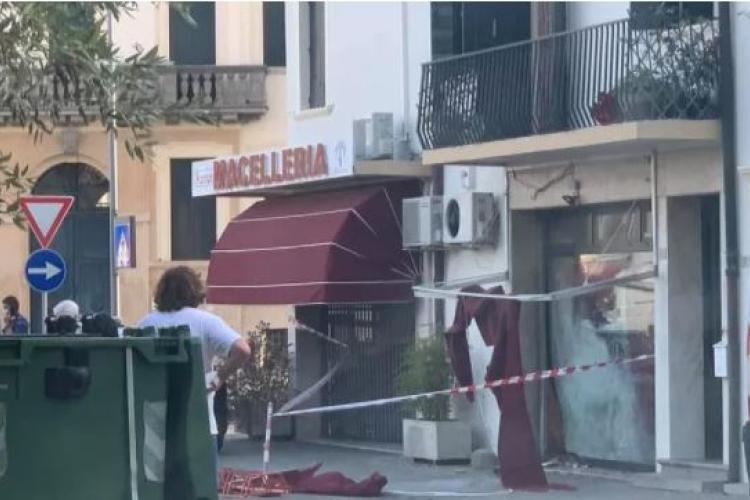 Attentato di stampo mafioso davanti alla macelleria